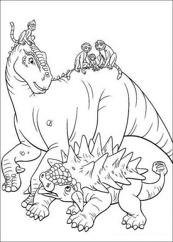 disney dinosaur coloring pages - photo#32