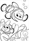 Clownfish Finding Nemo coloring page