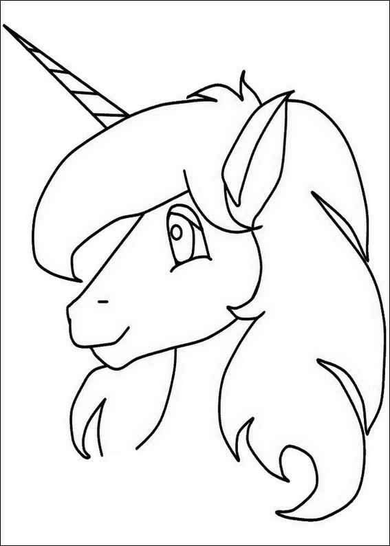 Unicorn Coloring Pages - Free Printable Colouring Pages for kids