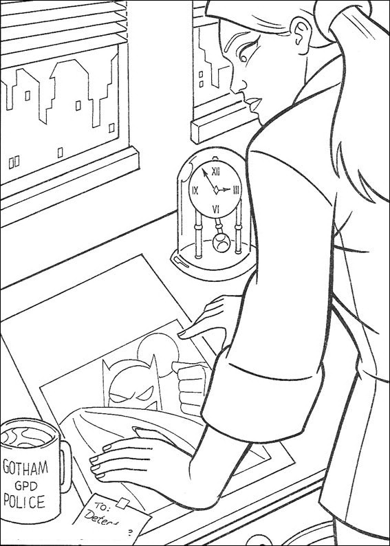 Batman 003 Coloring Pages 7 Comjpg Picture To Pin On