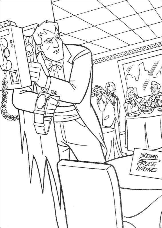 Batman 015 coloring page