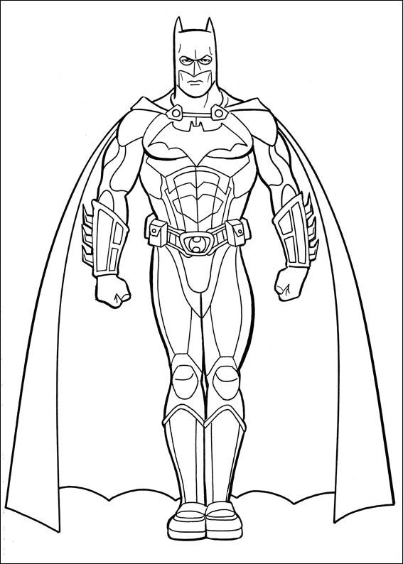 batmans coloring pages - photo#15
