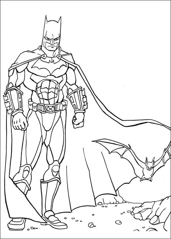 Batman 033 coloring page