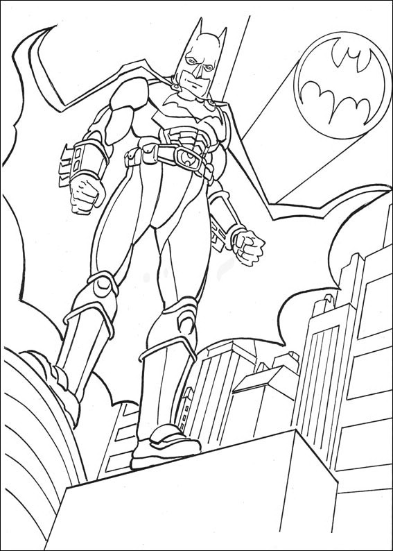 Batman 036 Coloring Page
