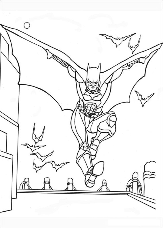 Batman Red Hood Coloring Pages