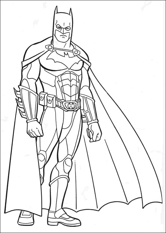Batman 041 coloring page