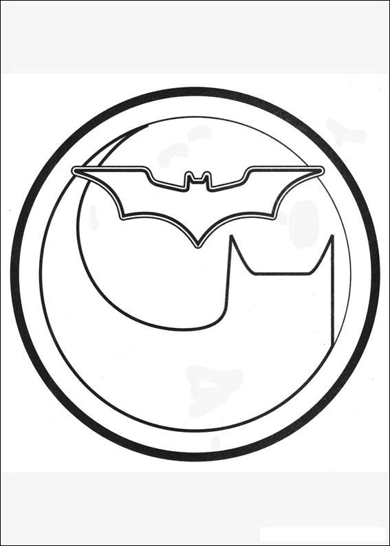 Batman 042 Coloring Page