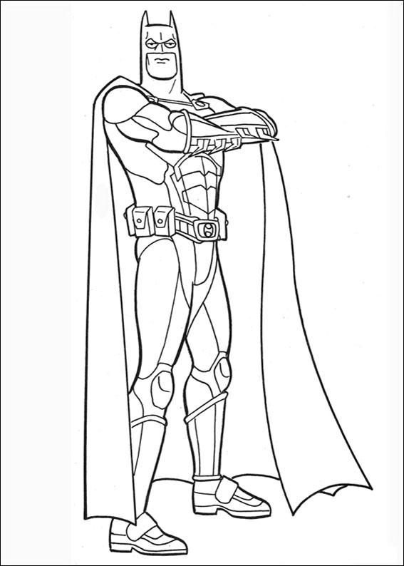 Batman 047 Coloring Page