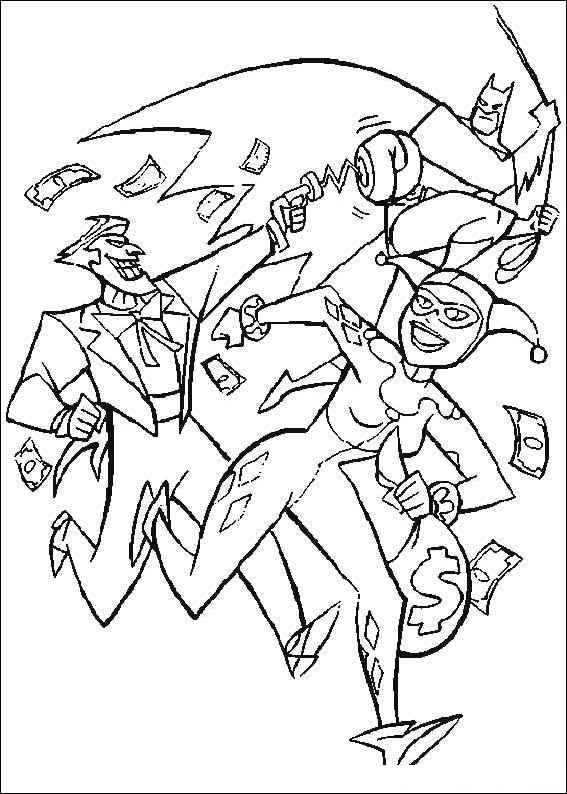 Batman 082 Coloring Page