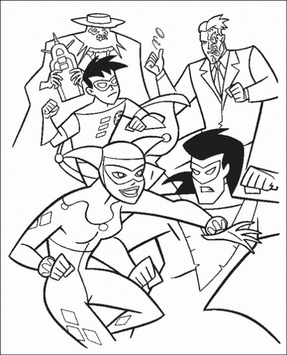 Batman 088 Coloring Page