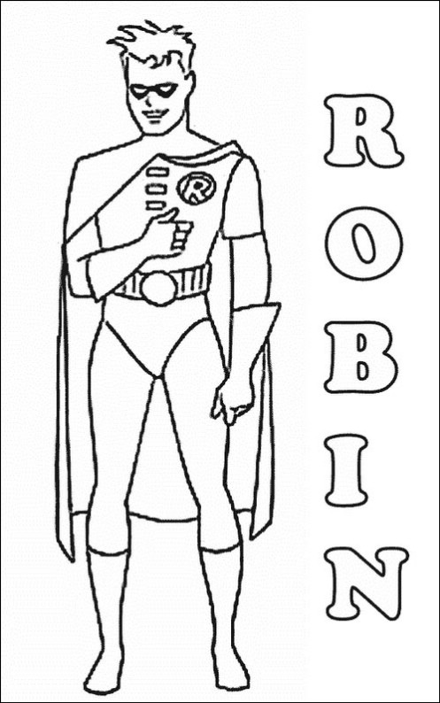 Batman 095 Coloring Page