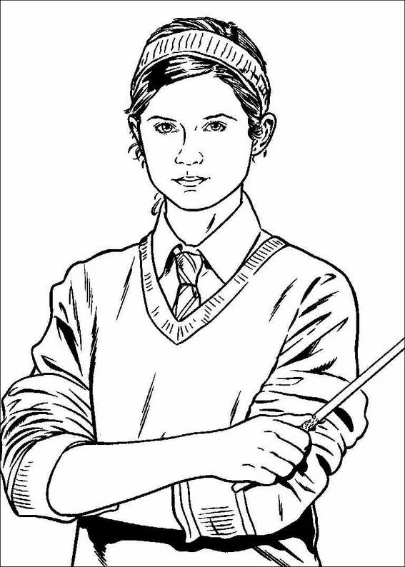 Harry Potter 019 Coloring Page