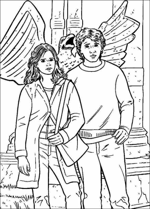 harry potter 034 coloring page - Harry Potter Coloring Pages Ginny