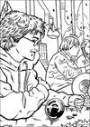 Harry Potter 036 coloring page
