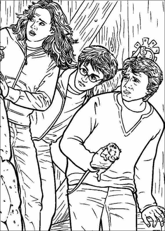 Harry Potter 040 coloring page