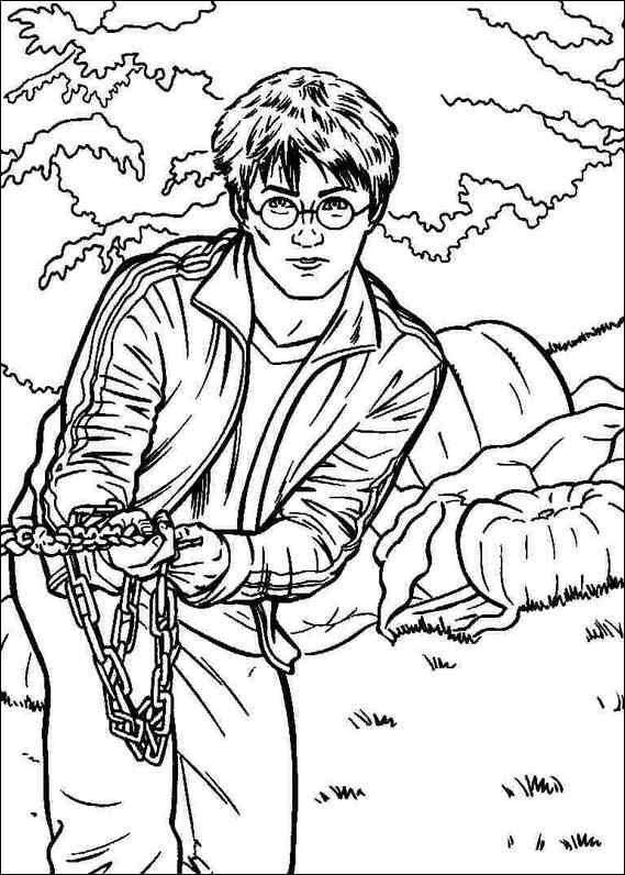 Dobby Harry Potter Coloring Pages