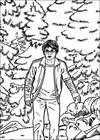 Harry Potter 047 coloring page