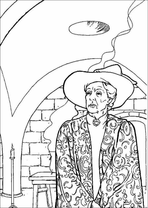 Harry Potter Coloring Book: Fun Coloring Pages Featuring Your ... | 794x567
