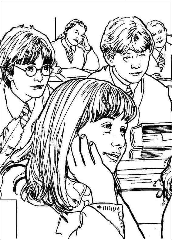 Coloring Coloring pages and Harry