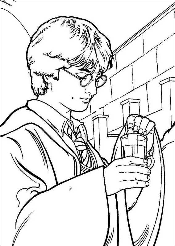 Harry Potter 063 coloring page