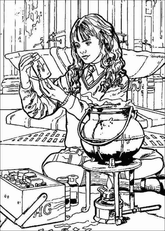 Harry Potter 069 coloring page