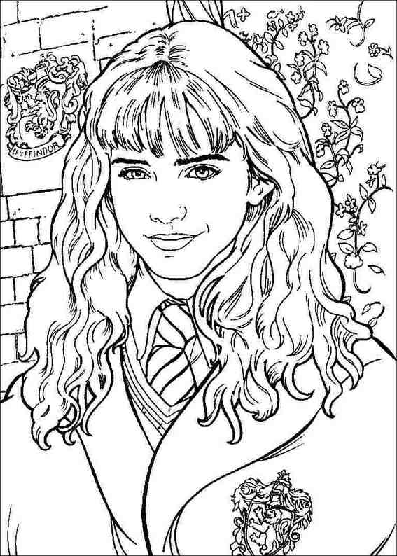 Harry Potter 071 Coloring Page