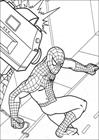 Spiderman 004 coloring page