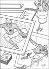 Spiderman 005 coloring page