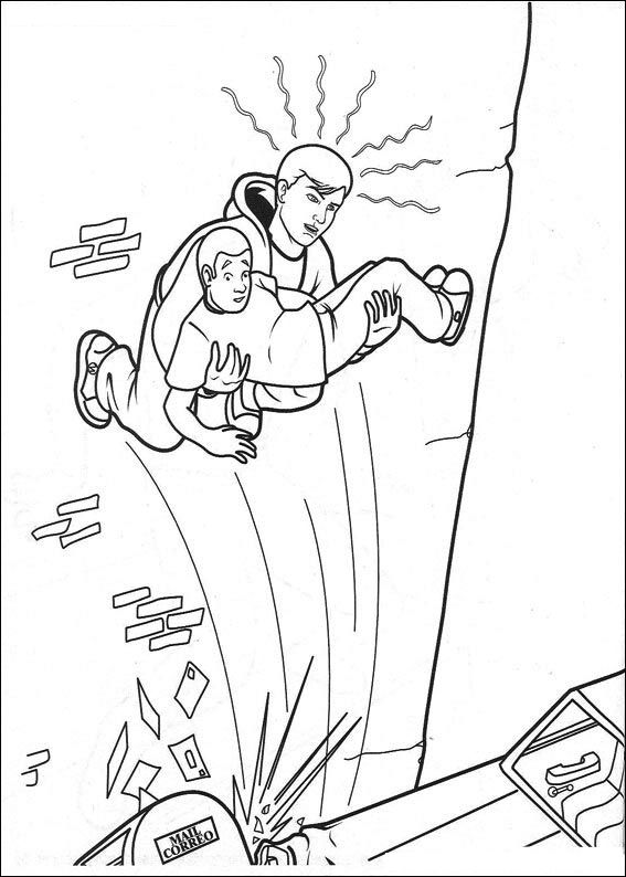 Spiderman 009 Coloring Page
