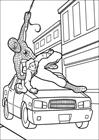 Spiderman 010 coloring page