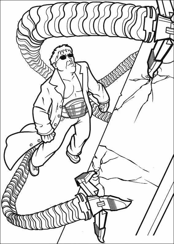 Spiderman 031 coloring page