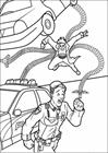 Spiderman 032 coloring page