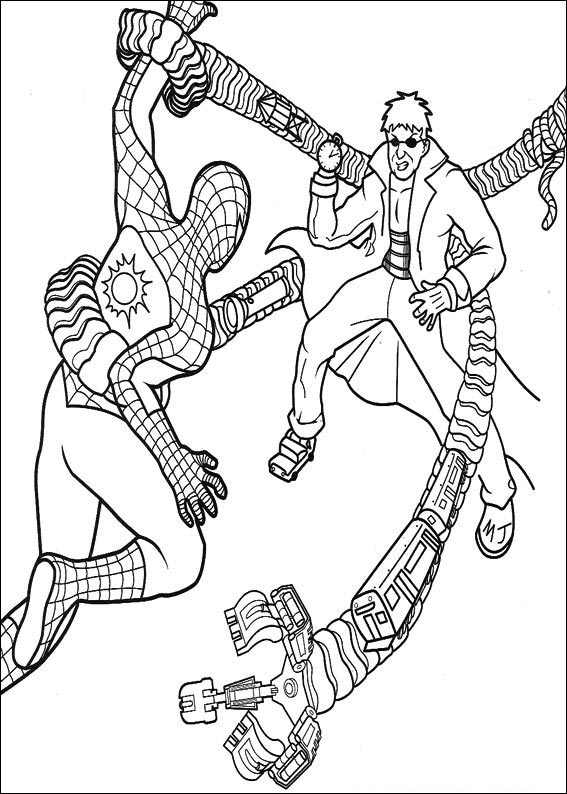 Spiderman 033 Coloring Page