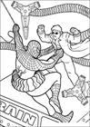 Spiderman 045 coloring page