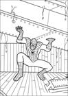 Spiderman 055 coloring page