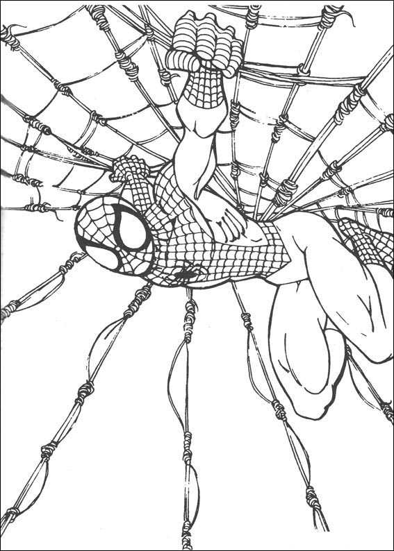 Spiderman 059 coloring page