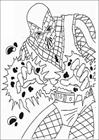 Spiderman 087 coloring page