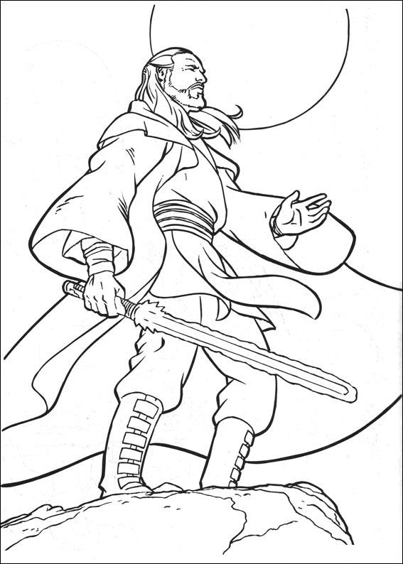 Star wars 017 coloring page