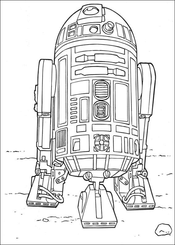 Star Wars 028 Coloring Page