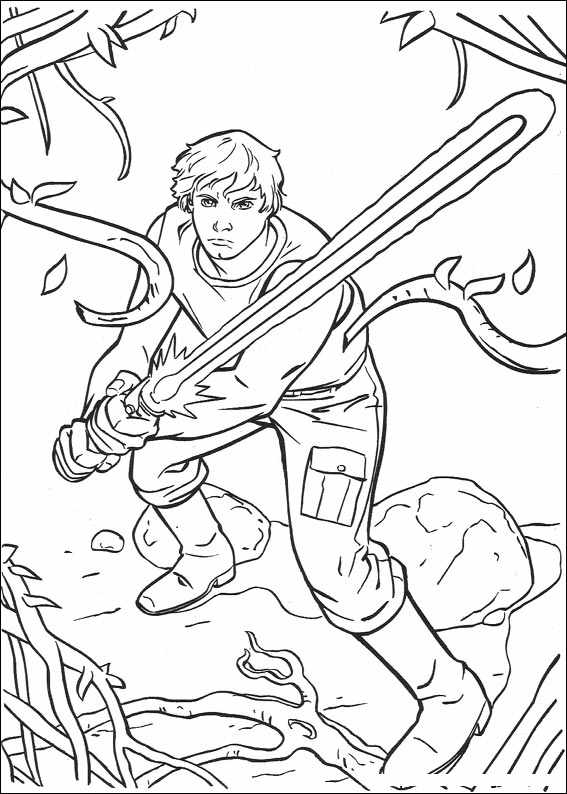 Star Wars 071 Coloring Page