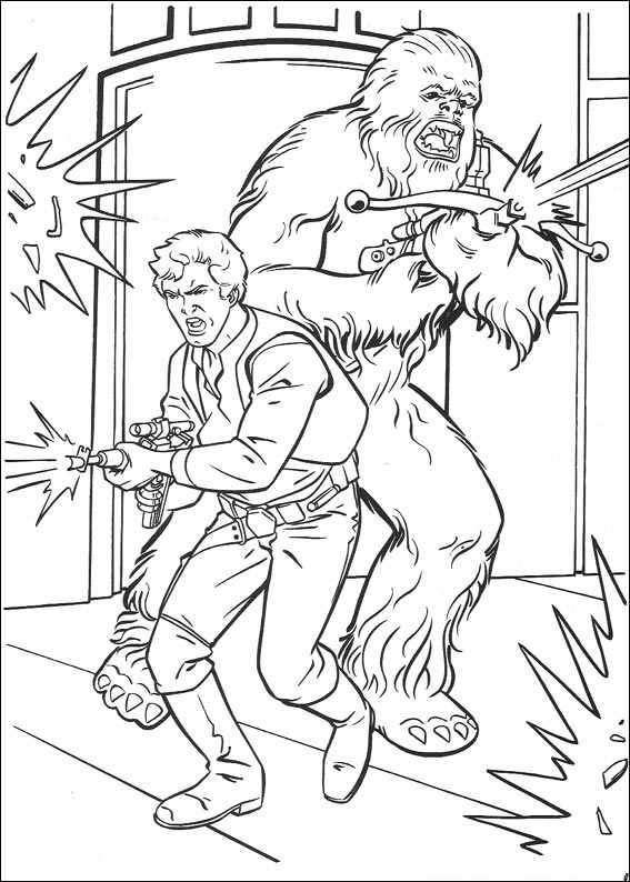 Star Wars 077 Coloring Page Wars 7 Coloring Pages