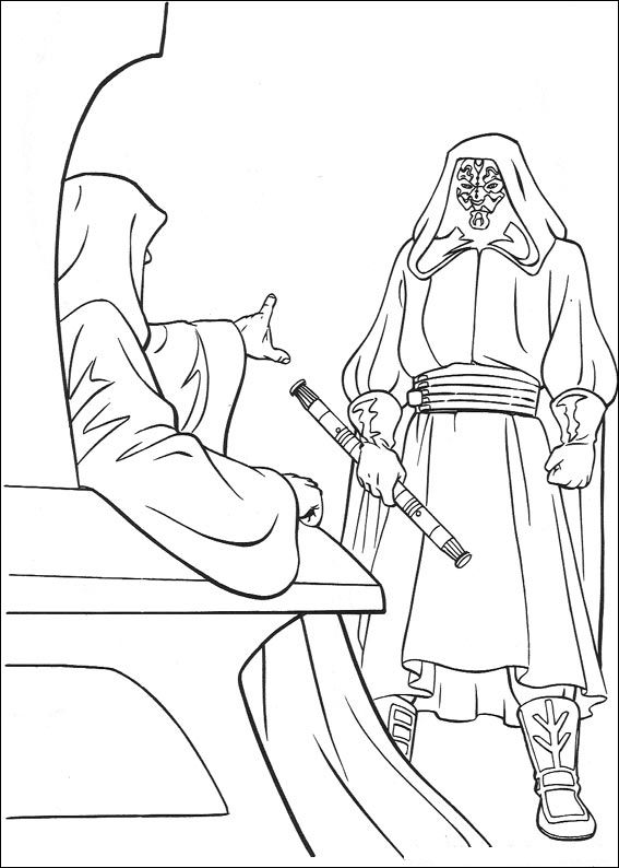 Star Wars 092 coloring page