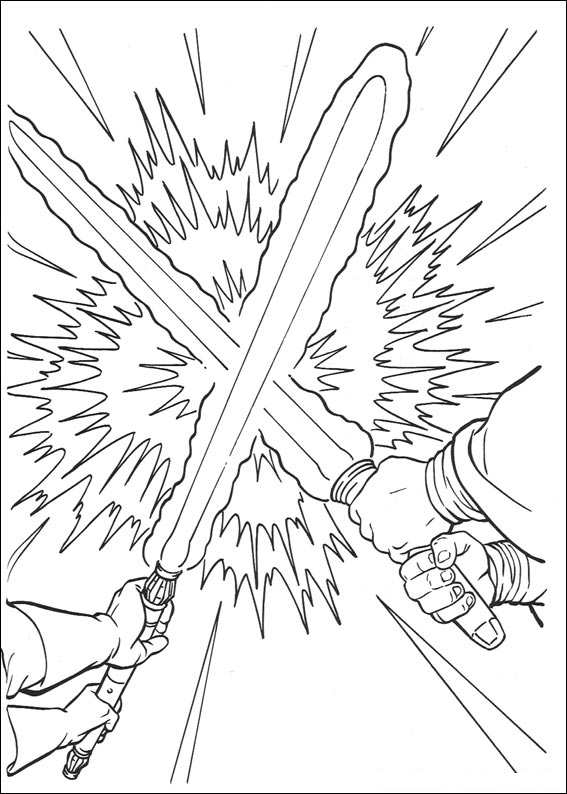 Star Wars 100 coloring page