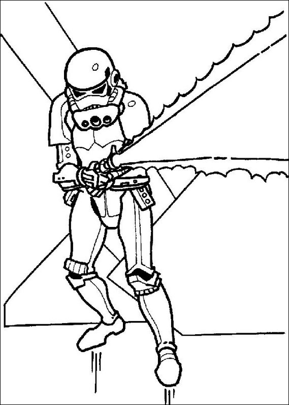 Star wars 139 coloring page