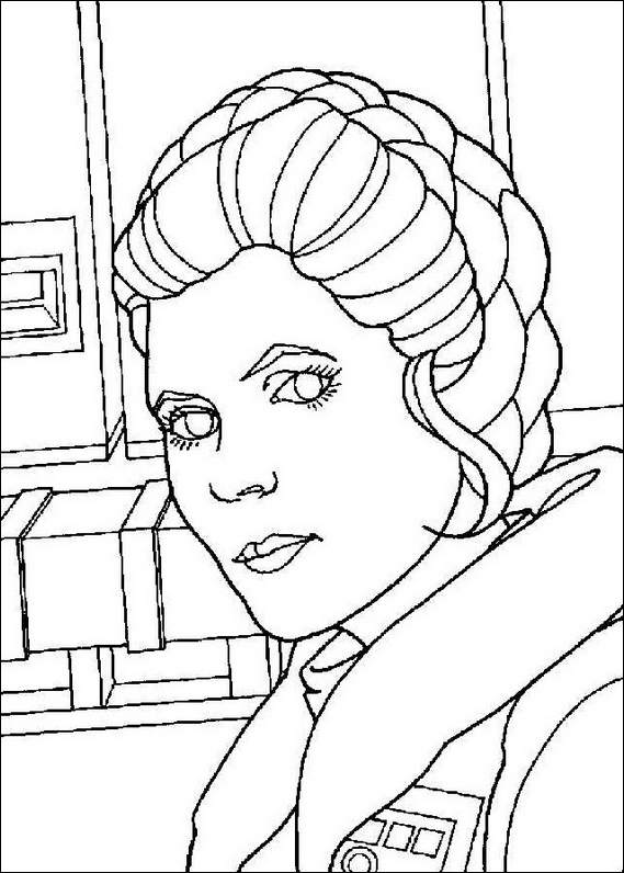 Star Wars 143 Coloring Page Starwars Coloring Pages