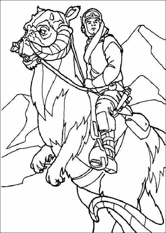 Rancor Coloring Pages Coloring