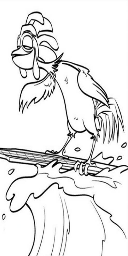 surfs up cody coloring pages - photo#16