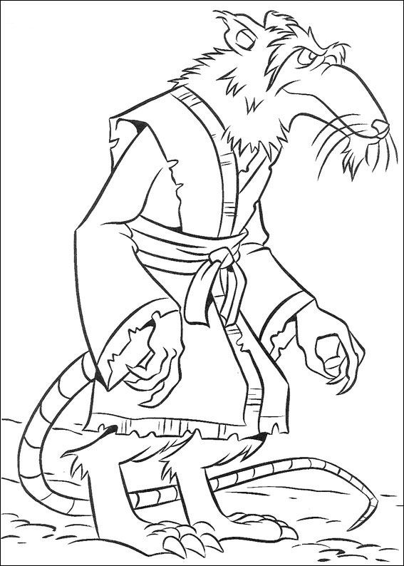 ninja turtles 2 coloring page - Tmnt Coloring Pages