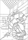 Ninja Turtles 3 coloring page