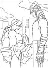 Ninja Turtles 5 coloring page